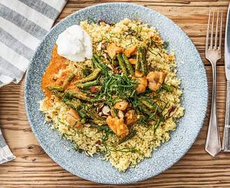 Curry met kip en sperziebonen Recept | HelloFresh