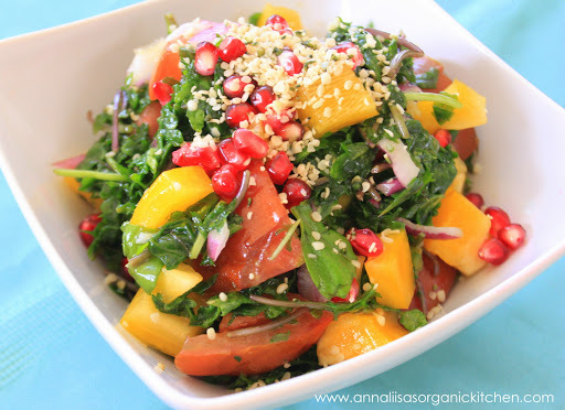 Non-diet Weight Loss Workshop in White Rock + Kale Salad with Hemp and Pomegranate Recipe