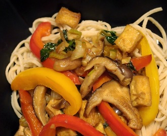 Chinese style vegetable stir fry