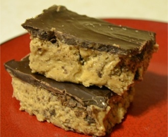 Chocolate Graham Cracker Peanut Butter Bars