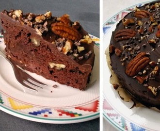 Death by chocolate cake (vegan!)