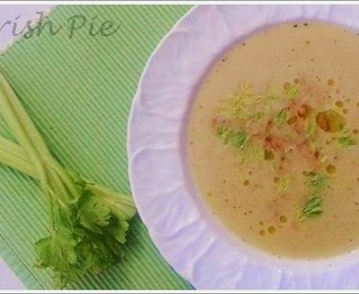 CELERY APPLE SOUP / SELLERIE APFEL SUPPE