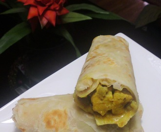 Weekend Treat - Curry Chicken Roti