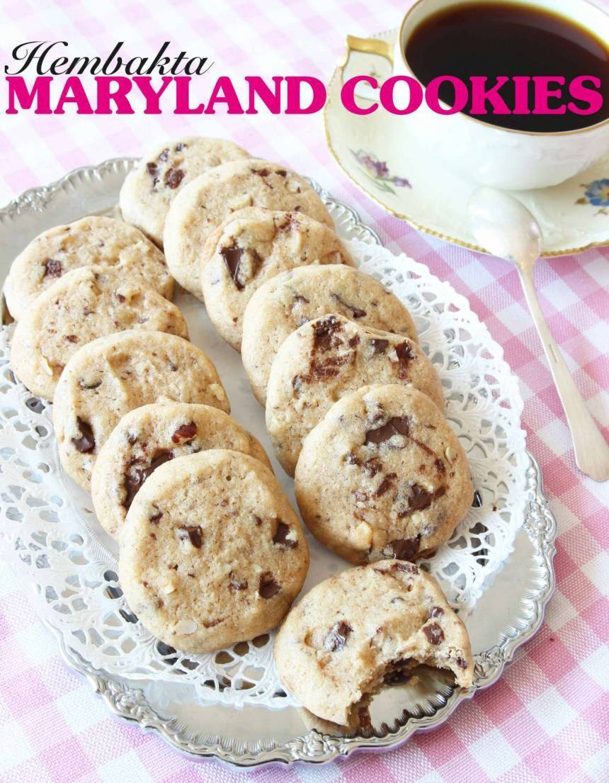 Hembakta Maryland Cookies