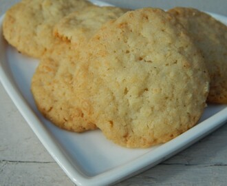 Dairy Free Coconut Biscuits
