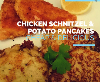 World Cup Special - Germany vs Algeria - Chicken Schnitzel and Potato Pancakes (TWO RECIPES!)