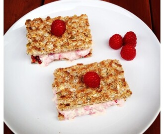 #SpringintoSummer: Ryvita Raspberry Ripple Ice Cream Sandwich Recipe