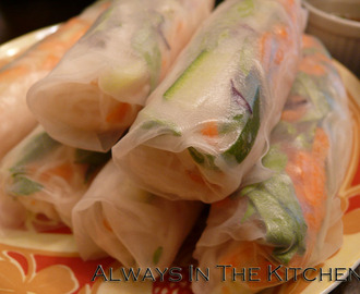 Summer Rolls, While We Still Can