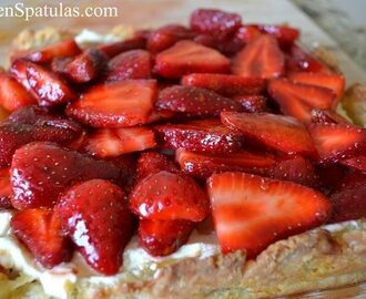 Featured Friday: Strawberry Mascarpone Tart