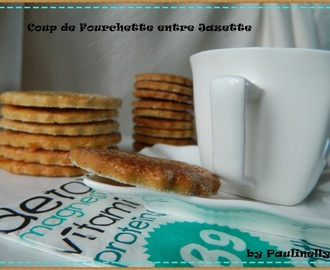 Biscuits croquants et gourmands au sirop d'érable