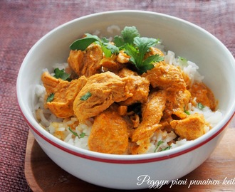 Chicken curry, kanacurry-videoresepti
