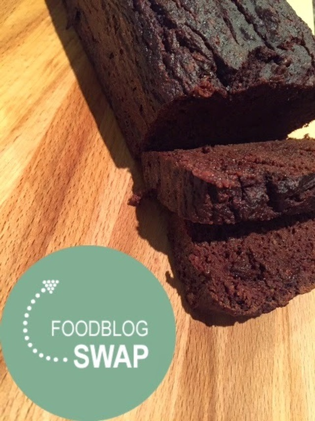 Paleo Chocolade Courgette 'Brood'