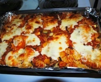Vegetable Pasta Bake