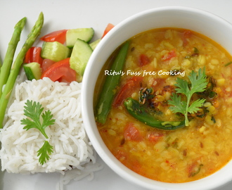 MOONG DAL FRY IN DHABA STYLE