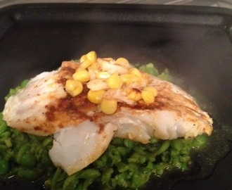 Fish Is The Dish - Smoked Paprika Cod & Pea Mash