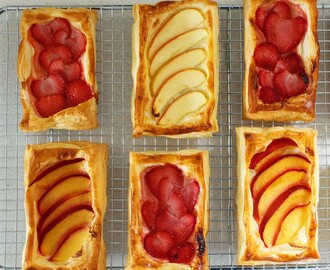 Summer Fruit Pastries