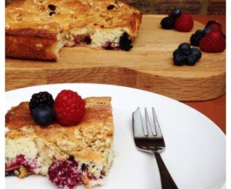 Summer Cake Recipe: Edd Kimber's Mixed Berry Traybake