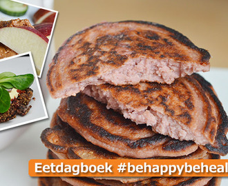 Eetdagboek #behappybehealthy 1