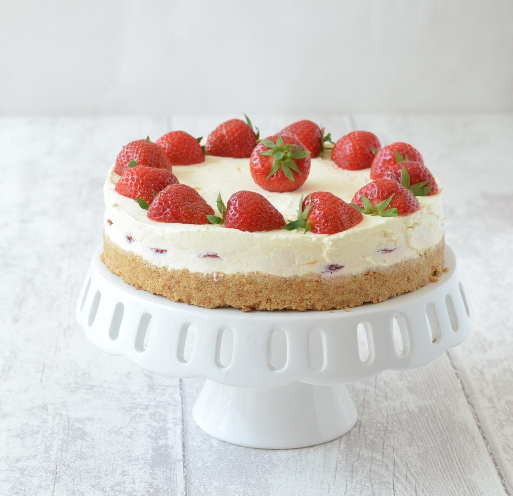 Strawberry and Lemon Cheesecake
