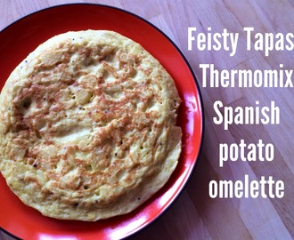 Thermomix Spanish potato omelette (tortilla de patatas)
