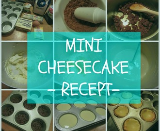 Recept: Mini Cheesecake
