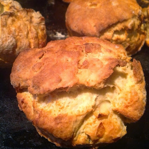 Rustic Cheese and Garlic Savoury Scones