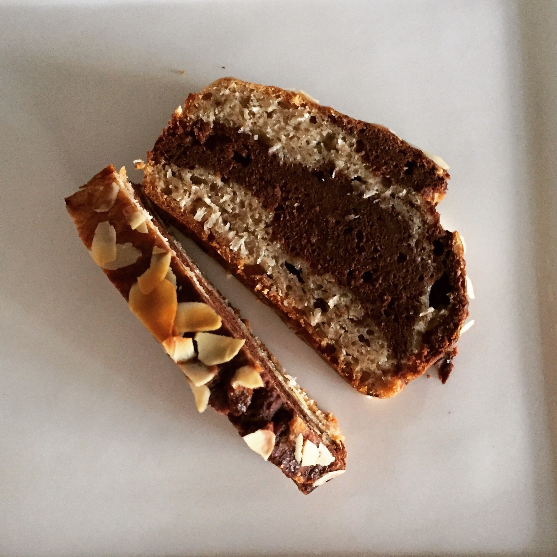 Healthy Marble Chocolate Cake