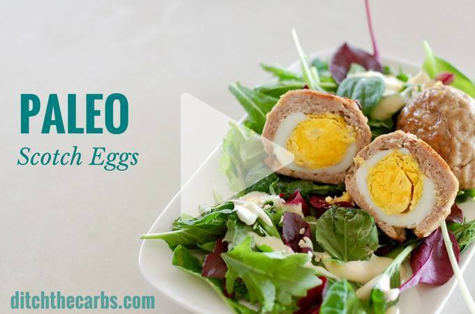 Keto Paleo Scotch Eggs