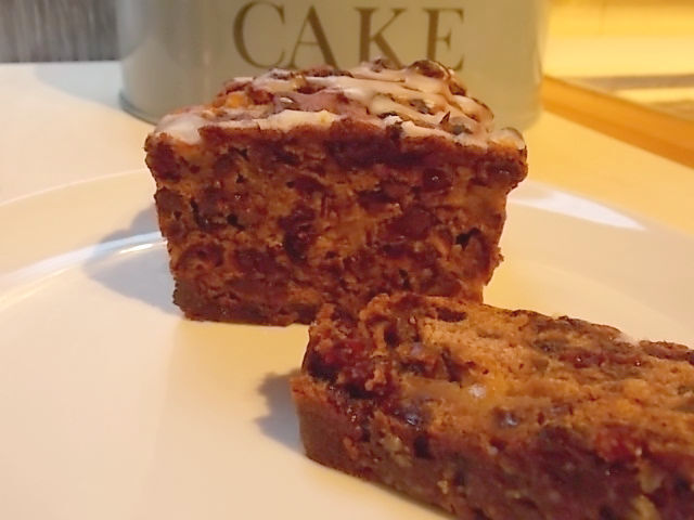 No sugar or fat fruit cake recipe