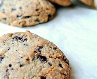Gezond trakteren: chocolate chip cookies