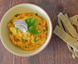 Moroccan Jewelled Houmous