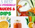 15 Of The Best Healthy & Kid Approved Sauces & Dips!