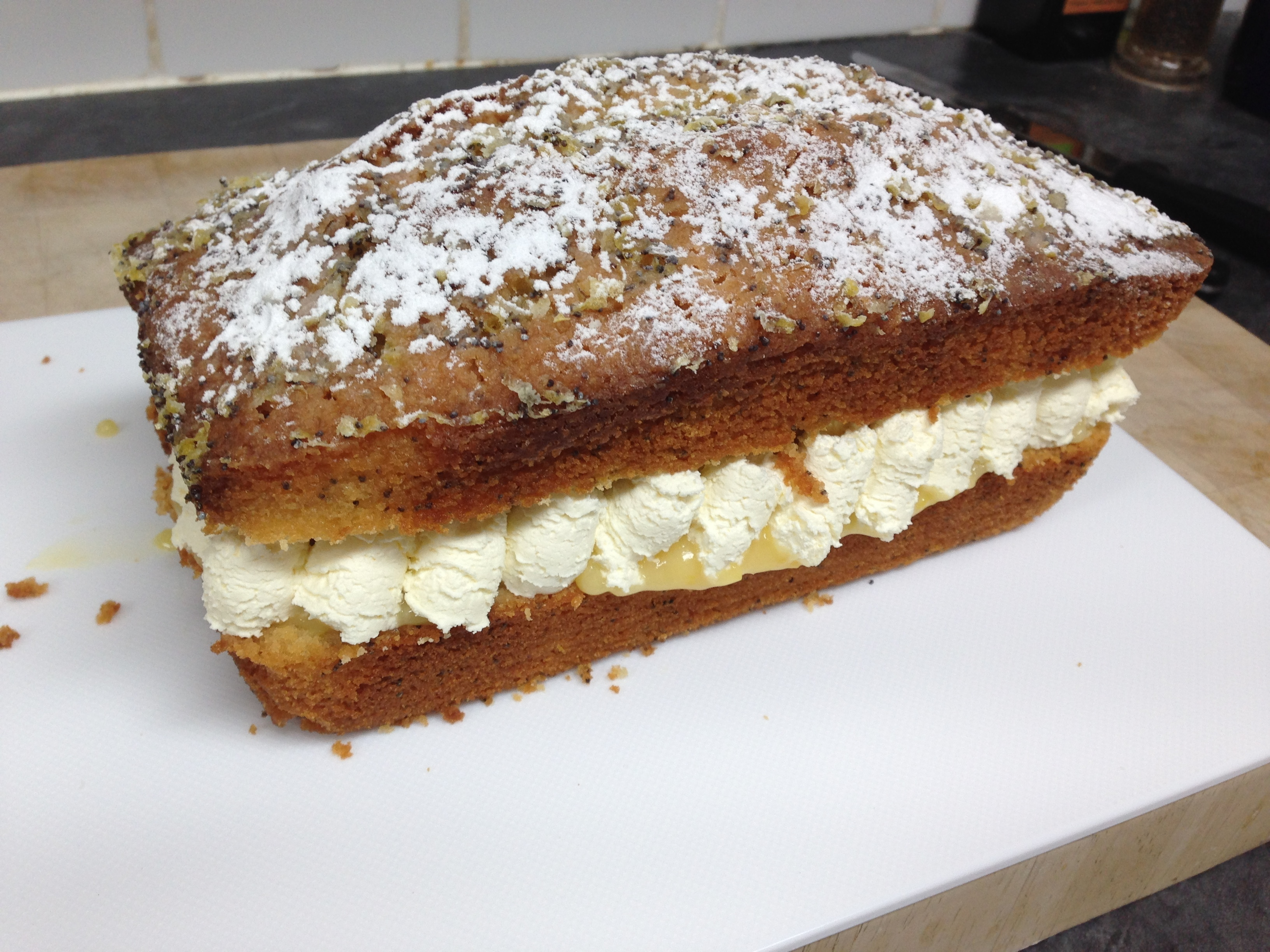 Lemon Drizzle Cake – Birthday Special!