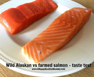 Farmed salmon vs wild Alaska salmon