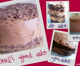Recept: Devil's food cake