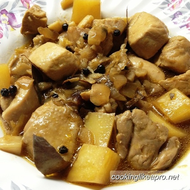 Cooking Chicken Adobo Recipe