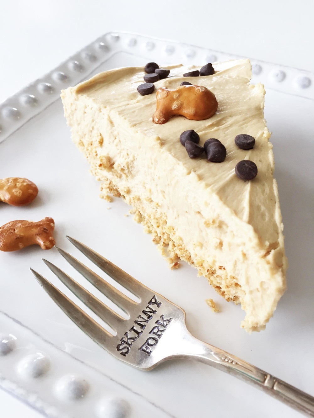 Skinny Peanut Butter Cheesecake