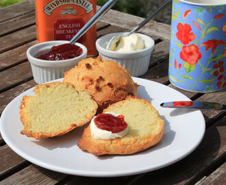 British Tea Time: Scones