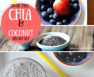 Chia Seed & Coconut Breakfast - My Family Ties