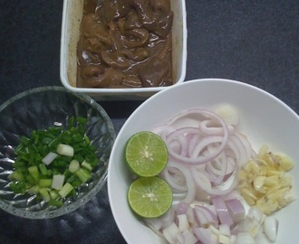 Cooking Pork Liver Steak