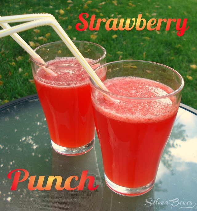 Strawberry Punch {Back At It}