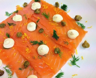 Wye Valley Smoked Salmon, Dill, Capers, Lemon & Crème Fraîche
