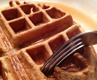 Unprocessing My Diet and Whole Wheat Waffles