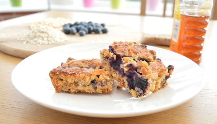 Honey and Blueberry bars #bookreview
