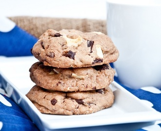 Recept / Triple Chocolate American Cookies