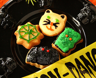 Royal Icing Halloween Sugar Cookies & Contest Winners!