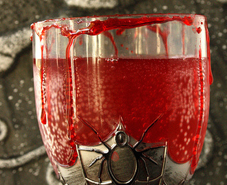 Bloody Halloween Herbal Cranberry Punch
