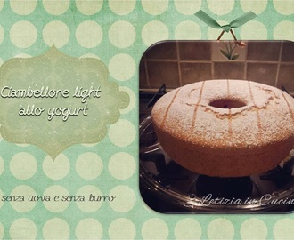 23. Ciambellone Light allo yogurt (senza uova)