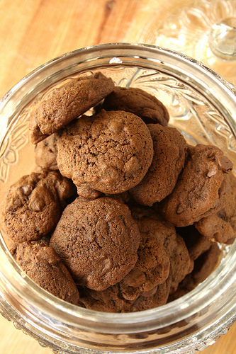 Mocha Chip Cookies... My Favourite!
