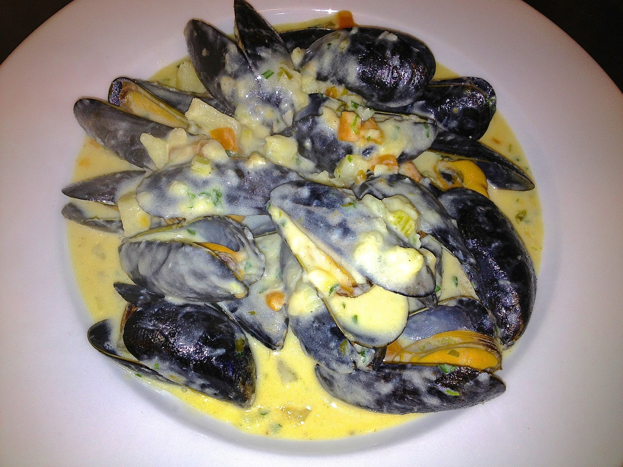 River Exe Mussel & Smoked Haddock Chowder